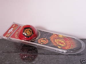Man Utd Doorhanger and mini football