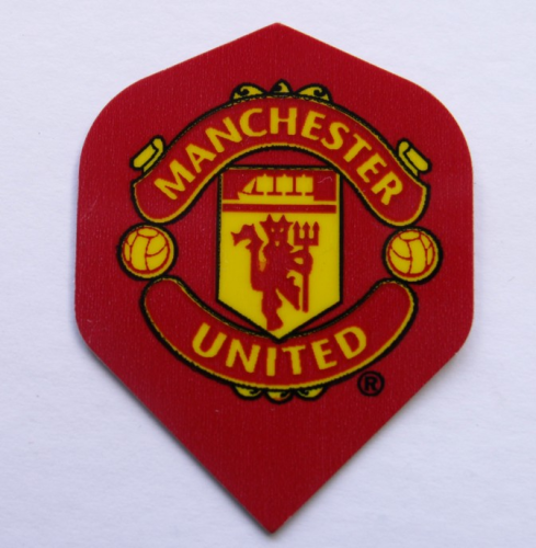 Man Utd Dart flights and stems