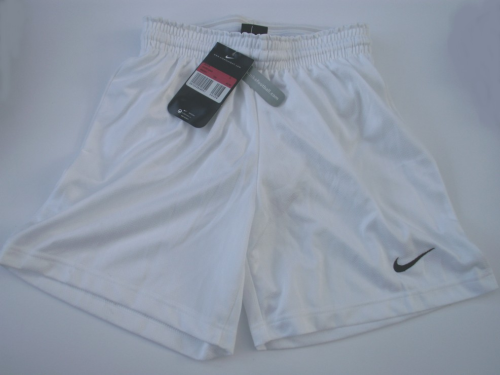 nike boys white shorts
