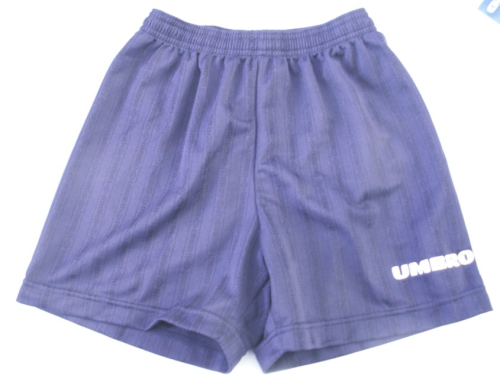 umbro boys Navy shorts