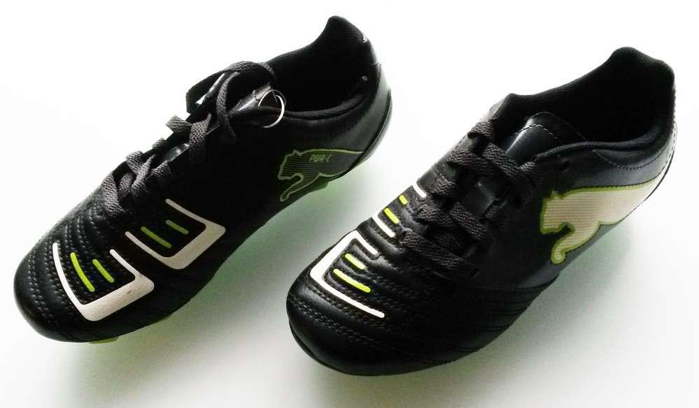 newest ae705 fbe9c (407) Puma Powercat 4.12 R HG football boots KIDS Size 10 BNIB