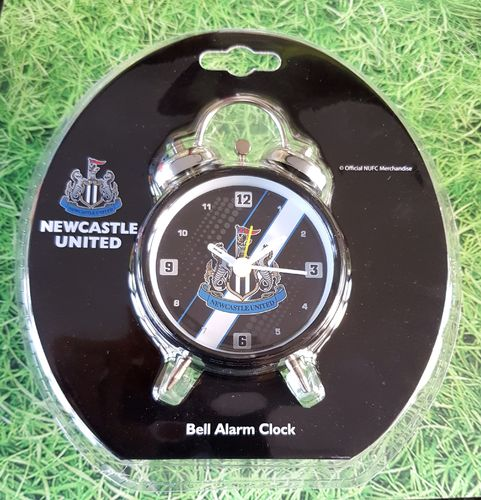 Newcastle United bell alarm clock